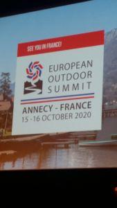 Cumbre Europea del Outdoor 2020 en Annecy (Francia)