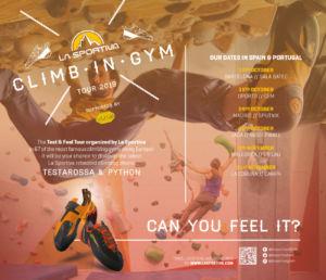 La Sportiva participa en el Climb in Gym Tour