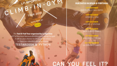 La Sportiva se vuelve a sumar al Climb in Gym Tour