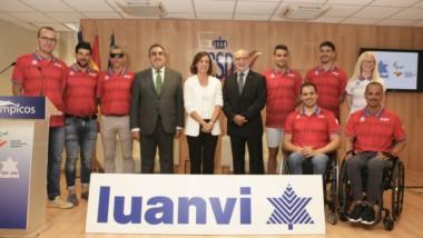 Luanvi acompañará al equipo paralímpico español en Tokio 2020