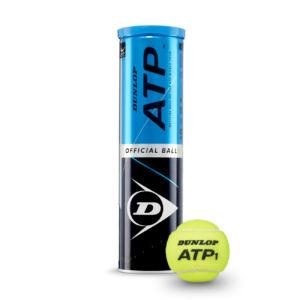 Dunlop amplía el número de torneos como bola oficial de la ATP