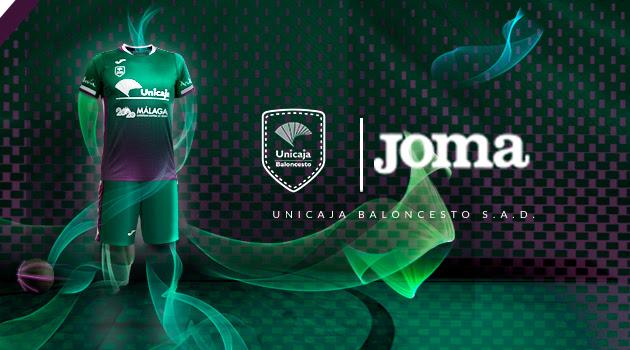 Joma presenta las equipaciones del Unicaja de Málaga