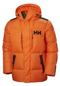 prendas de Helly Hansen para su uso en el Ártico