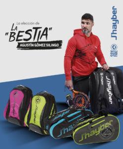 nuevos paleteros y mochilas de J'hayber desarrollados con Agustín Gómez Silingo