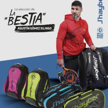 Paleteros y mochilas J'hayber diseñados con Agustín Gómez Silingo