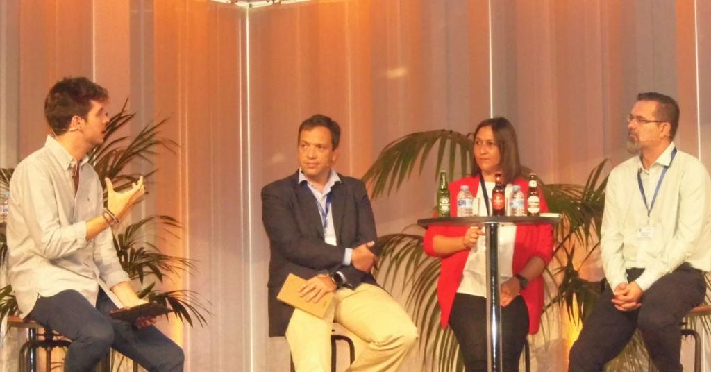 Representantes de empresas cerveceras Heineken, Damm, Mahou-San Miguel intervienen en el IV Congreso Trend Builders de Aecoc