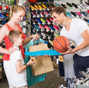 atención del cliente en retail y tiendas de deporte