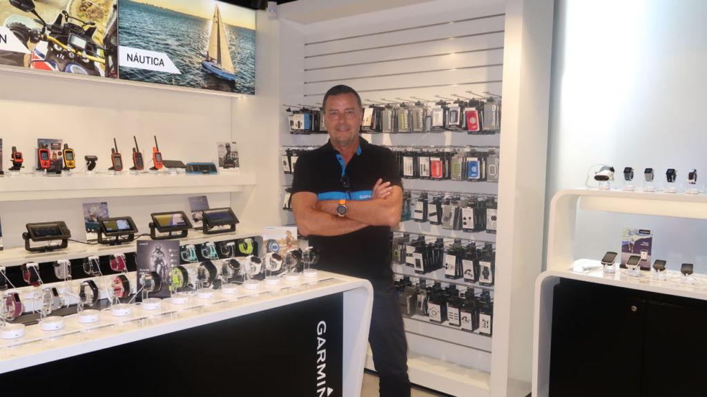 Salvador Alcover es director general de Garmin Iberia