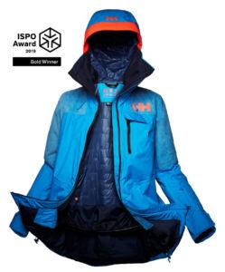 chaqueta Whitewall Lifaloft de Helly Hansen, premiada con un Ispo Gold Award