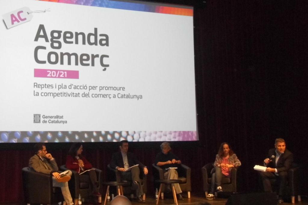 debate en torno a los retos de futuro del comercio en Cataluña