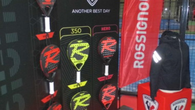 Rossignol lanza su nueva colección de palas de pádel