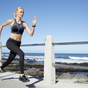 Shock Absorber brinda máxima protección y sujeción a la mujer activa y deportista