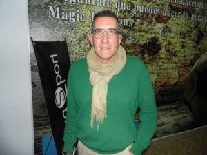 Carlos Arnaiz participa en las jornadas de compra de Atmósfera Sport