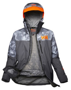 chaquetas ligeras de Helly Hansen para esquí con tecnología Lifaloft