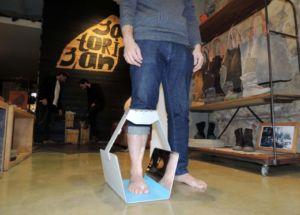 proyecto Optitalla de escaneo del pie en 3D del Instituto de Biomecánica de Valencia