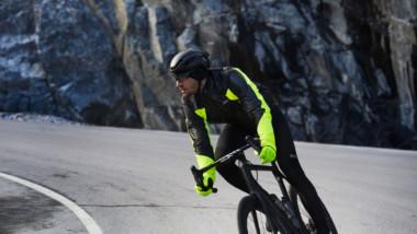 Gore-Tex Infinium se sube a la bici en invierno