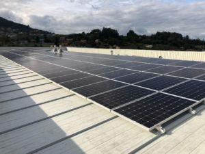 New Balance Iberia instala una planta fotovoltaica en su sede