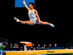Oksana Chusovitina, gimnasta olímpica