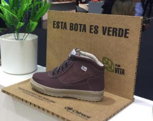 Chiruca lanza una bota con material íntegramente reciclado