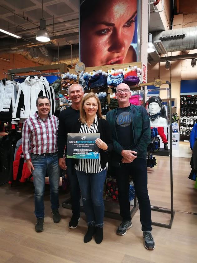 Intersport Tovar gana el primer premio Visual Merchandising de Buff