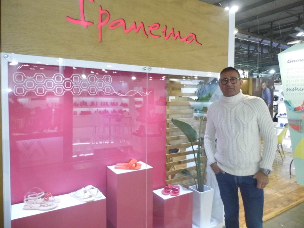 Foro Crespo en el stand de Ipanema en Micam