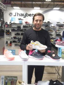 José Miguel Soriano participa con J'hayber en la feria Micam de calzado, en Milán