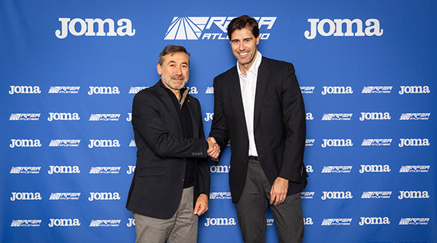 Joma prolonga su patrocinio de la Federación Española de Atletismo
