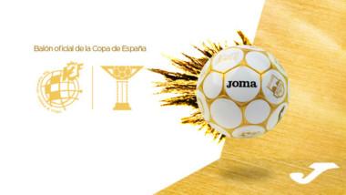 Joma descubre el balón oficial de la Copa de fútbol sala