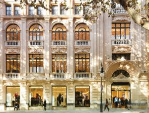 tienda Zara en Mallorca