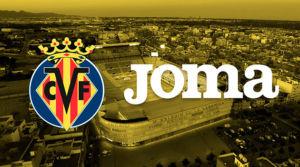 Joma prolonga su acuerdo de patrocinio con el Villarreal