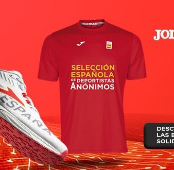 Joma lanza la Selección Española de Deportistas Anónimos