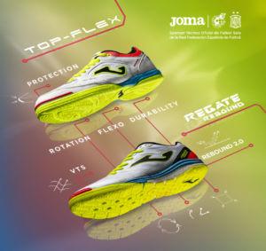 zapatillas exclusivas de fútbol sala desarrolladas por Joma para la RFEF