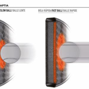 tecnología Adaptia para las palas de pádel de Bullpadel