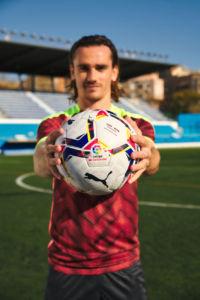 nuevo balón oficial de Laliga de fútbol desarrollado por Puma