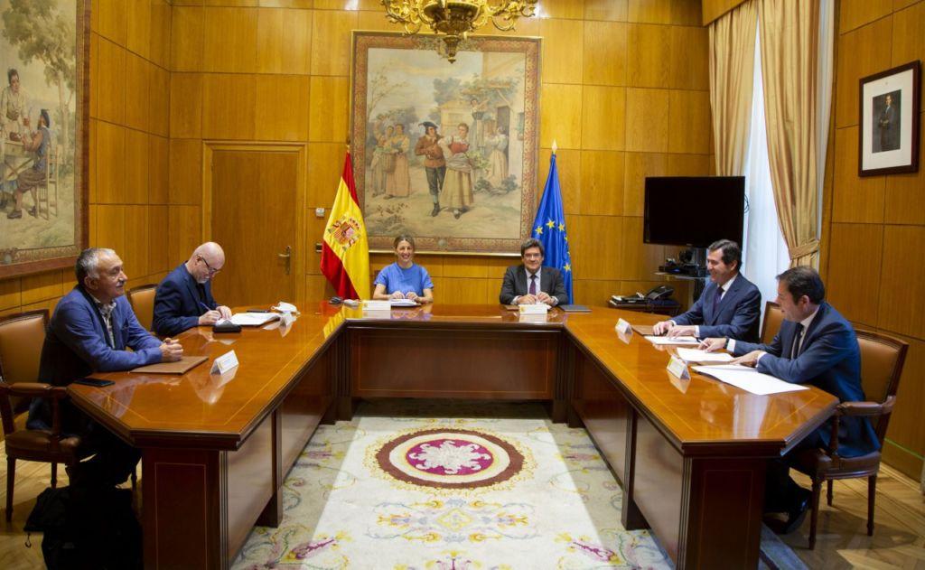 acuerdo de prolongación de los ERTE
