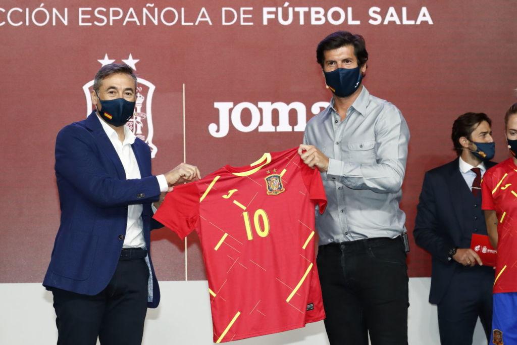Joma presenta la equipación para la selección española de fútbol sala