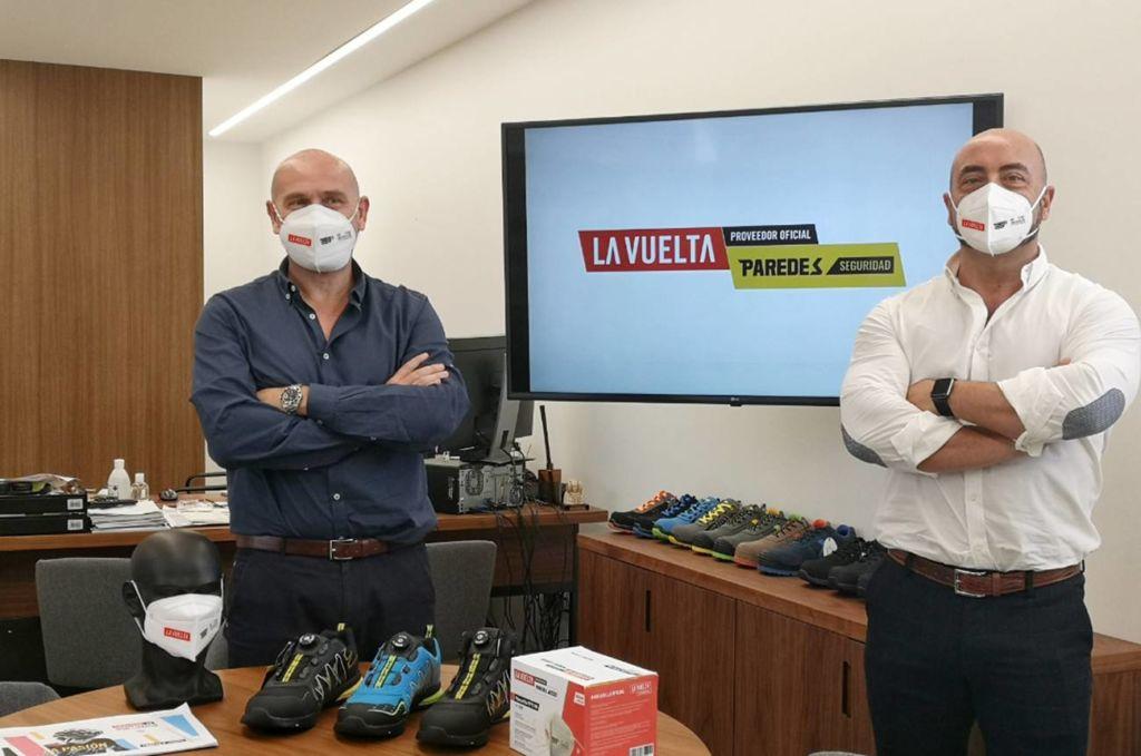 Paredes se convierte en proveedor oficial de La Vuelta ciclista a España