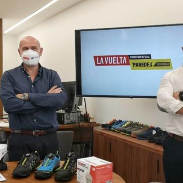 Paredes se convierte en proveedor oficial de La Vuelta