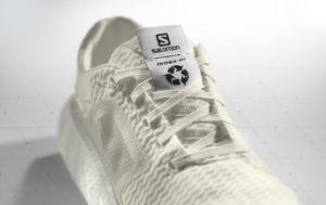 zapatilla reciclable de running desarrollada por Salomon