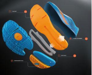nueva suela para las zapatillas pro de Bullpadel