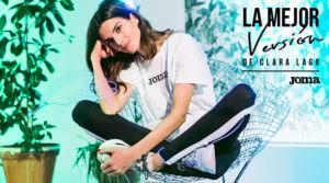 Clara Lago patrocina una campaña con Joma