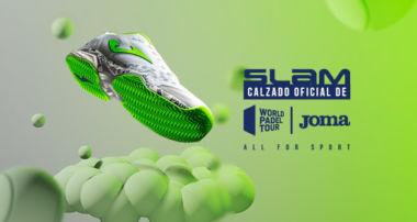 zapatilla oficial de World Padel Tour, de Joma