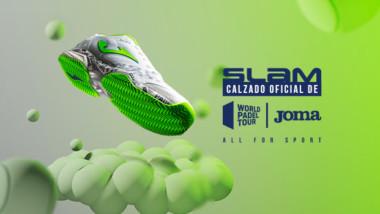Joma lanza la nueva Slam oficial del World Padel Tour