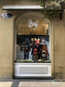 tienda efímera de Buff en San Sebastián