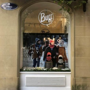 Buff reabre su pop up store invernal en San Sebastián