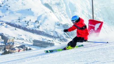 Caída drástica de la industria del esquí en Francia
