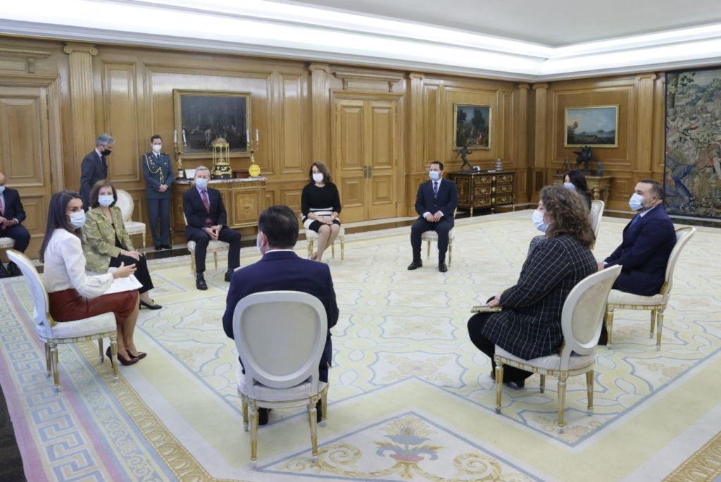 encuentro de la AEEPP con la reina Letizia