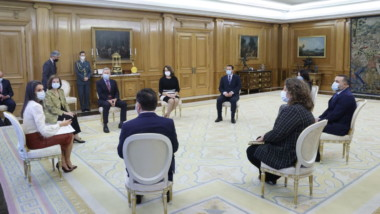 La AEEPP traslada a Su Majestad la Reina Doña Letizia la preocupación por el futuro del sector de los medios de comunicación
