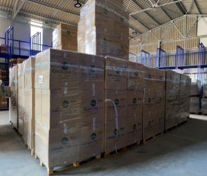 donación de calzado Chiruca a Grecia y Bosnia
