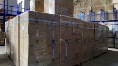 Chiruca dona más de 4.000 pares de calzado para personas refugiadas